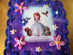 Sofia the First Cake Ideas   Sofia the first cake   For Annie