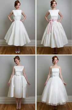 594d468ee9d Tea length Wedding dress Camo Wedding Dresses