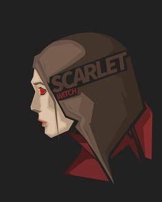 Scarlet Witch Elizabeth Olsen #CivilWar #popheadshots
