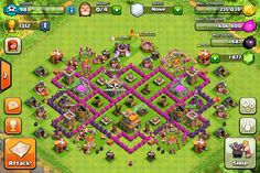 clash of clans defense strategy town hall level 6 - Google Search
