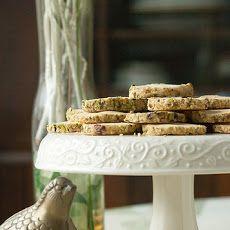 Pistachio-Cardamom Icebox Cookies Recipe