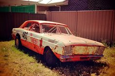 Ziggies 460 powerered dirt circuit car. South Australia. Now a road car.