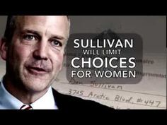 Alaska! - 'Sullivan would limit healthcare choices for Alaska women' -- The key thing is that it's not just Dan Sullivan. If he's in the Senate, he'll be voting with dozens of other Republicans to limit women's healthcare choices. Because these are the standard positions of his party—thinking bosses should have the right to pick and choose healthcare options for their workers is the Republican position. That's why it's so important to work to defeat Republicans at every level.