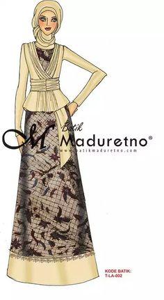 Fashion hijab muslim batik 58 Ideas for 2019 Maxi Outfits, Casual Dress Outfits, Fashion Outfits, Batik Fashion, Abaya Fashion, Batik Muslim, Modest Wear, Muslim Dress, Trendy Fashion