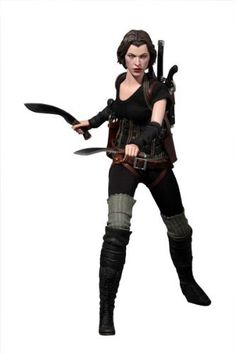 Resident Evil Afterlife 3D Hot Toys Video Game Masterpiece 1/6 Scale Collectible Figure Alice by Hot Toys. $220.50. Sideshow Collectibles and Hot Toys are proud to present the 1/6th scale Alice Collectible Figure from the Resident Evil Afterlife movie. The movieaccurate Alice collectible is specially crafted based on the image of Milla Jovovich in the movie, highlighting the newly sculpted head, detailed costume and weapons.The Alice 12 inch Figure features Authentic han...