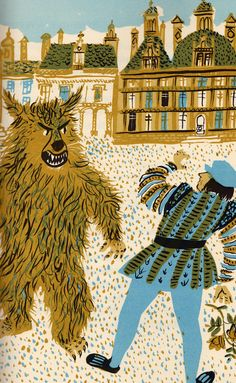 my vintage book collection (in blog form).: Favorite Fairy Tales Told in France - illustrated by Roger Duvoisin