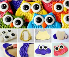 Perfect DIY Ideas: The Perfect DIY Cute Owl Cookies With Big Eyes - T...