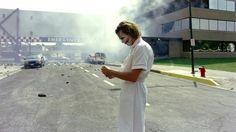 Heath Ledger as Joker and Joker as a nurse