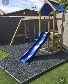 Impressive backyard play ground ideas - Transforming The Backyard Into A Play Ground-- Cool Projects Children Will Love You For. Kids Backyard Playground, Backyard Swing Sets, Backyard Playset, Backyard Playhouse, Backyard For Kids, Backyard Projects, Outdoor Projects, Outdoor Playset, Kids Outdoor Play