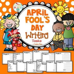 April Fool's Day - Writing. These writing prompts will showcase what a funny prank is and allow your students to record on a variety of templates.