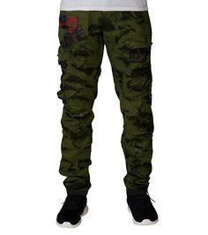 382fe037da HERITAGE MENS TWILL CARGO PANT Dark Green Cargo Pants, Parachute Pants