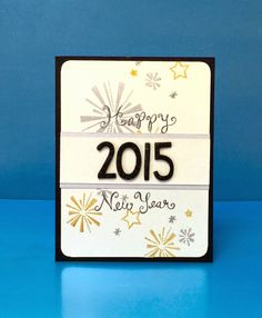 """Lawn Fawn - Happy New Year, Happy 4th, Finley's 123s Lawn Cuts _ card by Lynnette at Netter's Notables: Lawnscaping Challenge """"Count Me In"""" Sponsored by Lawn Fawn"""