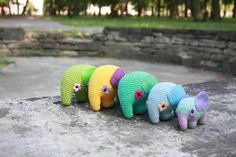 PATTERN- Amigurumi Elephant Pattern - Crochet PDF Tutorial - Printable - Instant Download - In English $4.50
