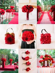 red! (red,wedding,color,flower)