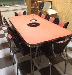 77 best vintage table chairs wanted inspiration images table rh pinterest com