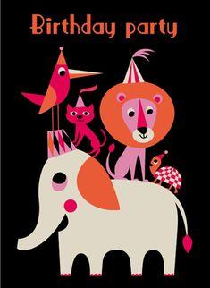 Birthday card by Ingela P. Arrhenius