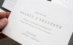 Modern Textured Invitations