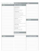 2014 calendar, daily dockets, chore charts, household forms at Money Saving Mom.