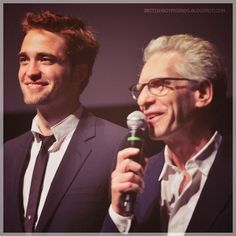 Robert Pattinson & David Cronenberg Cosmopolis Promo