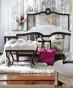 Belle Meade's Modern Glamour Bedroom pieces create inviting, classic interiors. de Grimme Gallery Suite 72 in MDC