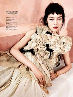 ☆ Fei Fei Sun | Photography by Sharif Hamza | For Vogue Magazine China | May…