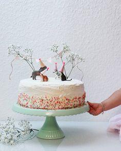 16 ideas birthday cake flower girl sweets for 2019 Pretty Cakes, Beautiful Cakes, Cake Cookies, Cupcake Cakes, Fun Cupcakes, Bolo Original, Piece Of Cakes, Savoury Cake, Celebration Cakes