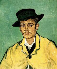 Portrait of Armand Roulin, Vincent van Gogh   1888   Arles-sur-tech, France   Oil on canvas   Museum Folkwang, Essen, Germany