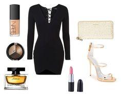 """Glam Night"" by amuramasri on Polyvore featuring mode, Topshop, Giuseppe Zanotti, Kate Spade, NARS Cosmetics en Dolce&Gabbana"