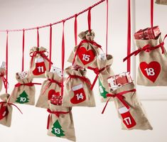 creative christmas decoration ideas advent calendar DIY christmas decorations