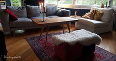 Vintagentti: Tiikkipöydän rinkulat saivat kyytiä.. Ottoman, Chair, Furniture, Home Decor, Decoration Home, Room Decor, Home Furnishings, Stool, Home Interior Design