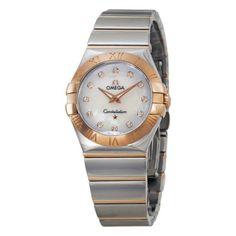 a497732a464f Omega Constellation Diamond Ladies Watch 12320276055003