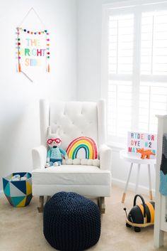 Bright, Colorful, Cheerful, Rainbow Nursery