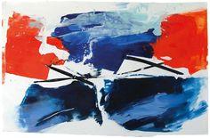 Ana Sério Reflexo (turvo) da Luz #9, 2015, 91x140cm #Artist #AnaSério #Colorful #Paintings #Oil on #Paper at #SaoMamede #Art #Gallery in #Algarve #Portugal