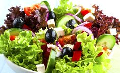 7 receitas de saladas light