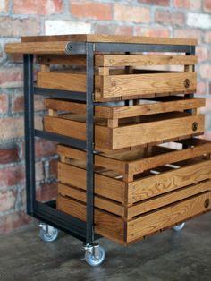 img_2702 Kitchen Units, Kitchen Cart, Kitchen Storage, Barber Shop Interior, Portable Kitchen Island, Wooden Table Top, Rustic Kitchen Design, Steel Metal, Craft Organization