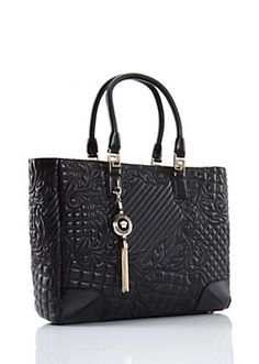 Versace Elettra Quilted Vanitas Bag Fashion