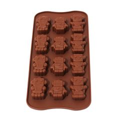 Silicone Ice Tray Robot Rp 45.000