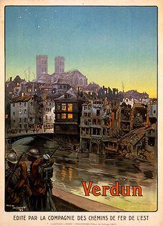 World War I poster Verdun 1916