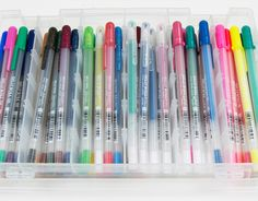 "12 Vintage School Supplies You Can Still Buy.....I protest their use of the word ""vintage,"" but I full-on LOVED these things!! Gelly Roll pens for LIFE!"