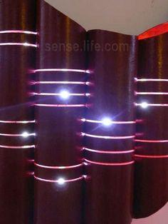 Потрясающий светильник своими руками (мастер-класс, фото)