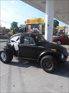 Seems legit Punisher. Fusca Cross, Vw Rat Rod, Vw Baja Bug, Sand Rail, Custom Muscle Cars, Beach Buggy, Vw Cars, Volkswagen Jetta, Vw Beetles