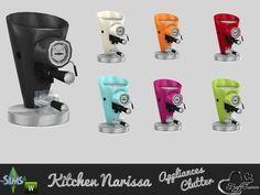 BuffSumm's Clutter Narissa Coffeemaker (Working!)
