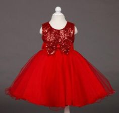 DRESS, GIRL'S AND BABY DRESSES, MULTIPLE DRESS CHOICE WITH SHINY BOWS LOW PRICES SIZES 3T 4T 6 MULTIPLE COLORS FREE SHIPPING USA