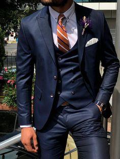 GentWith Venus Navy Blue Slim Fit Patterned Suit GentWith Venus Navy Blue Slim Fit Patterned Suit,FASHION BY TIME Related posts:Anzug Finlo-Blake in Dunkelblau Joop - suits menUrbane Bohemian Wedding Inspiration von soeur coeur -. Blue Slim Fit Suit, Blue Suit Men, Navy Blue Suit, Groom Suits, Groom Attire, Men's Blue Suits, Suit For Men, Navy Blue Groom, Best Suits For Men