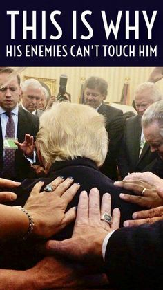 Pastor Rodney Howard-Browne described moment he led a prayer circle in the Oval Office as people laid their hands on President Trump. God Bless America and our President, may he continue to run our great country by Your Will! Donald Trump, John Trump, Barack Obama, Prayer Circle, Pray For Trump, Melania Trump, Trump Photo, Trump Is My President, Vice President