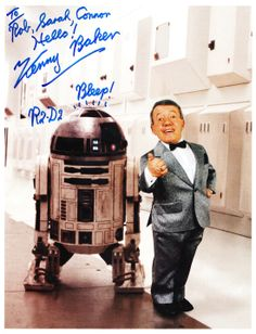 Kenny Baker (R2D2 - Star Wars) #R2D2 #StarWars