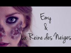 Emy & Elsa La reine des Neiges Congelée (Frozen Elsa) - YouTube - emy ltr Elsa, Maquillage Halloween, Halloween Ideas, Pixar, Halloween Face Makeup, Make Up, Film, Youtube, Snow Queen