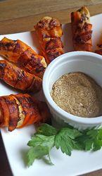 Crispy Carrot-Chicken Tenders [AIP-Friendly - no mustard] & Low fodmap.