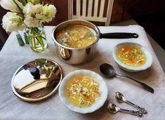 1:6 Scale Chicken Noodle SOUP SET - METAL Pot with Lid & 2 Ceramic Bowls, Spoons, Ladle - Realistic Faux Food for Fashion Dolls and Figures Chicken Noodle Soup, Large Pots, Mini Foods, Miniature Food, Ceramic Bowls, Spoons, Fashion Dolls, Minis, Noodles
