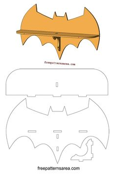 Ted's Woodworking Plans - Laser Cutting Batman Wall Shelf Woodworking Plan Get A Lifetime Of Project Ideas & Inspiration! Step By Step Woodworking Plans Learn Woodworking, Woodworking Workbench, Easy Woodworking Projects, Popular Woodworking, Woodworking Furniture, Diy Wood Projects, Woodworking Machinery, Custom Woodworking, Wood Crafts